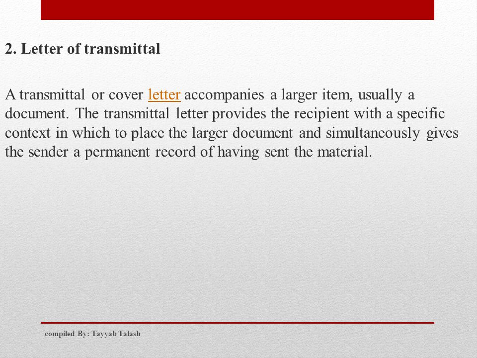 Doc18882550 Document Transmittal Template Free Document – Transmittal Letter Sample for Proposal