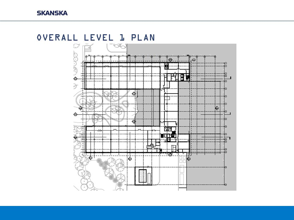 OVERALL LEVEL 1 PLAN