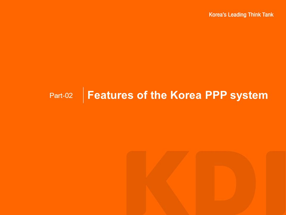 Features of the Korea PPP system Part-02