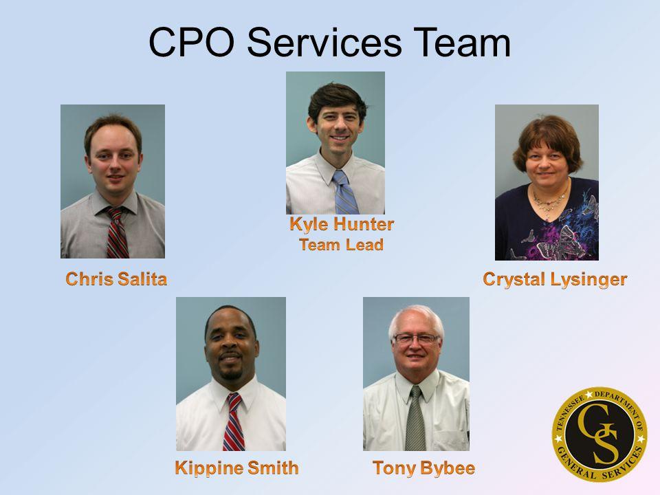 CPO Services Team