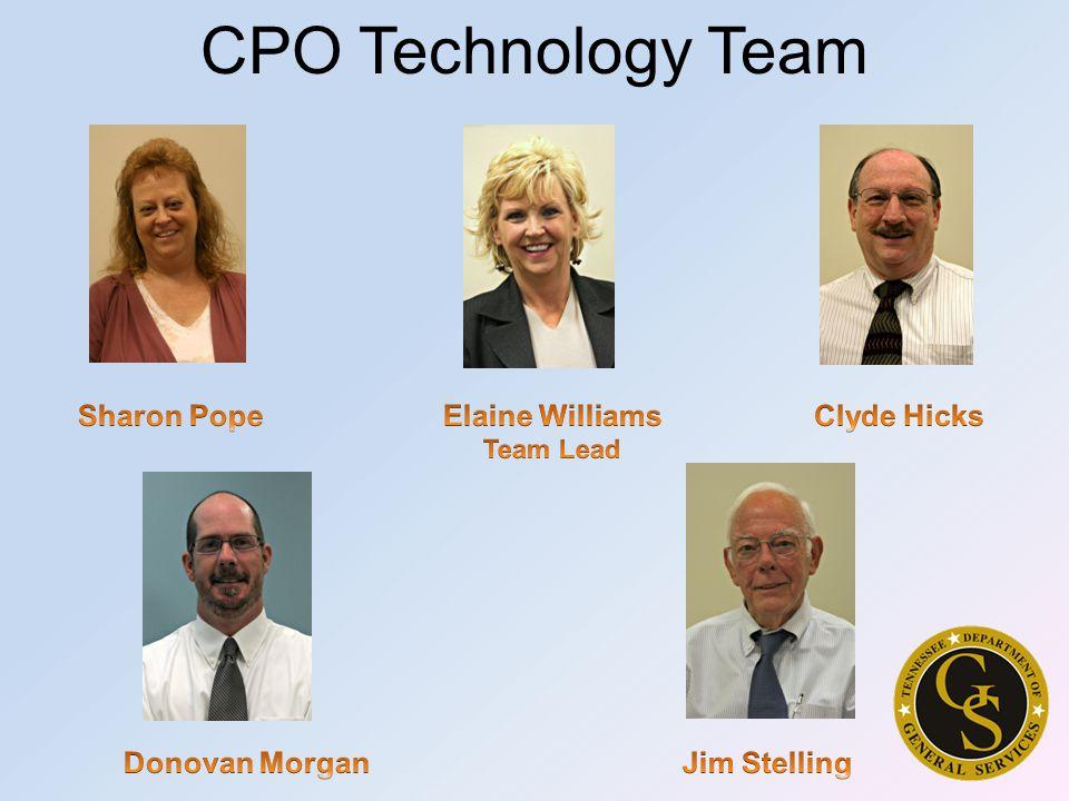 CPO Technology Team
