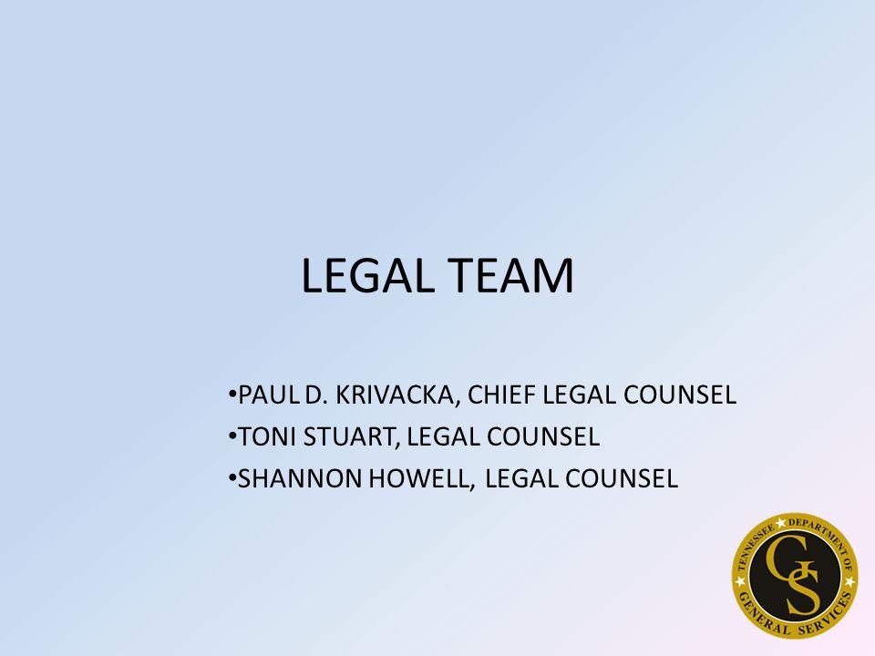 LEGAL TEAM PAUL D.