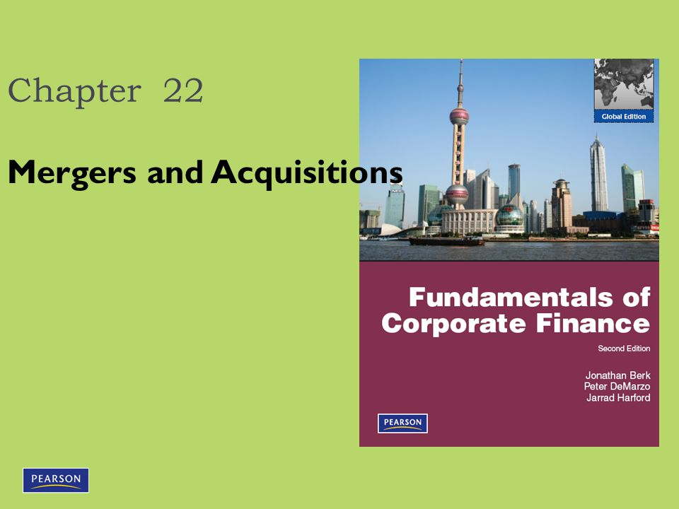 22.2 Market Reaction to a Takeover  Most acquirers pay a substantial acquisition premium.
