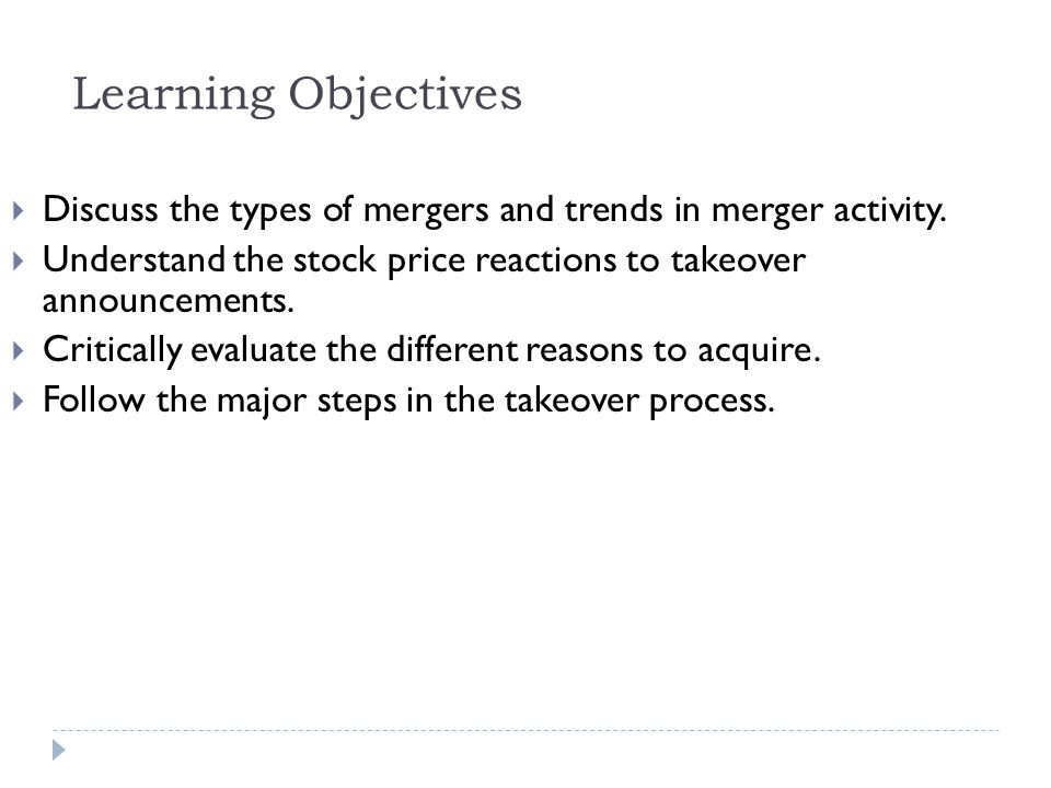 Example 22.4 Maximum Exchange Ratio in a Stock Takeover Solution: Plan:  We can use Eq.