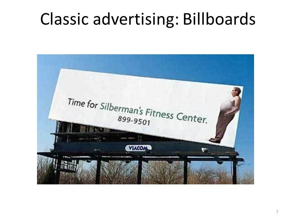 Classic advertising: Billboards 7