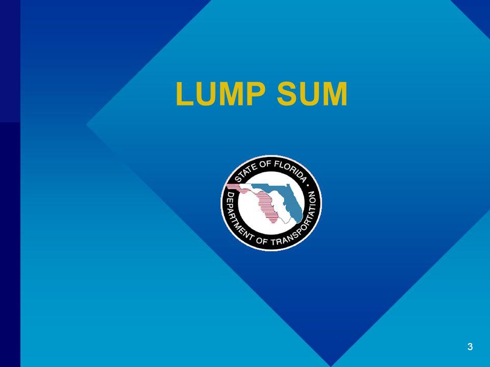 LUMP SUM 3