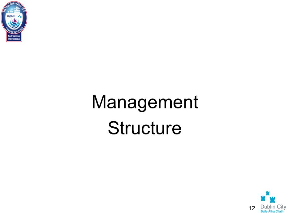 Management Structure 12