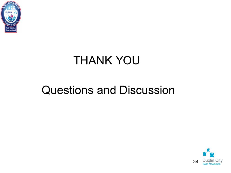 THANK YOU Questions and Discussion 34