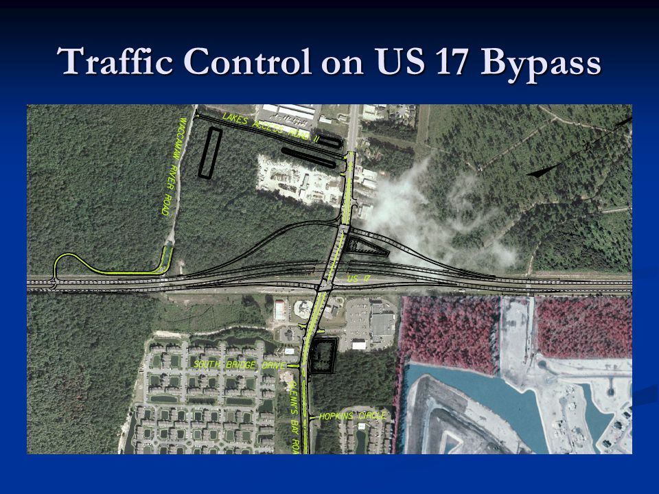 Traffic Control on US 17 Bypass