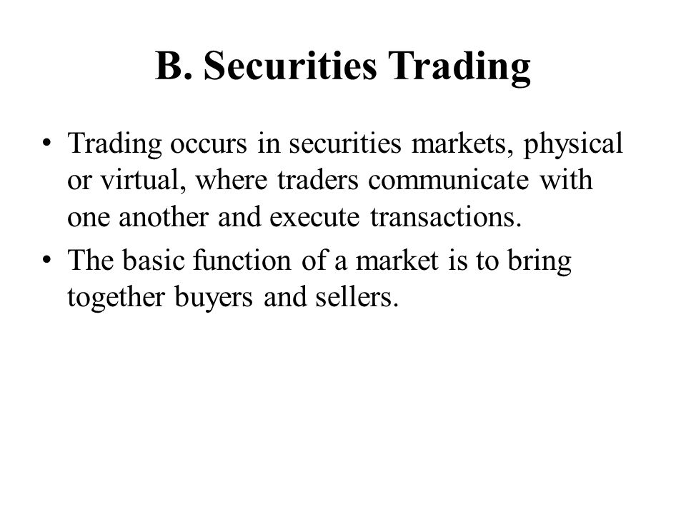 Trade Data Markets usually retain ownership of market data to sell to customers.