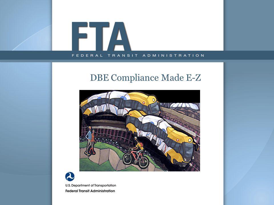 DBE Compliance Made E-Z