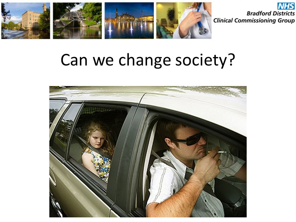 Can we change society