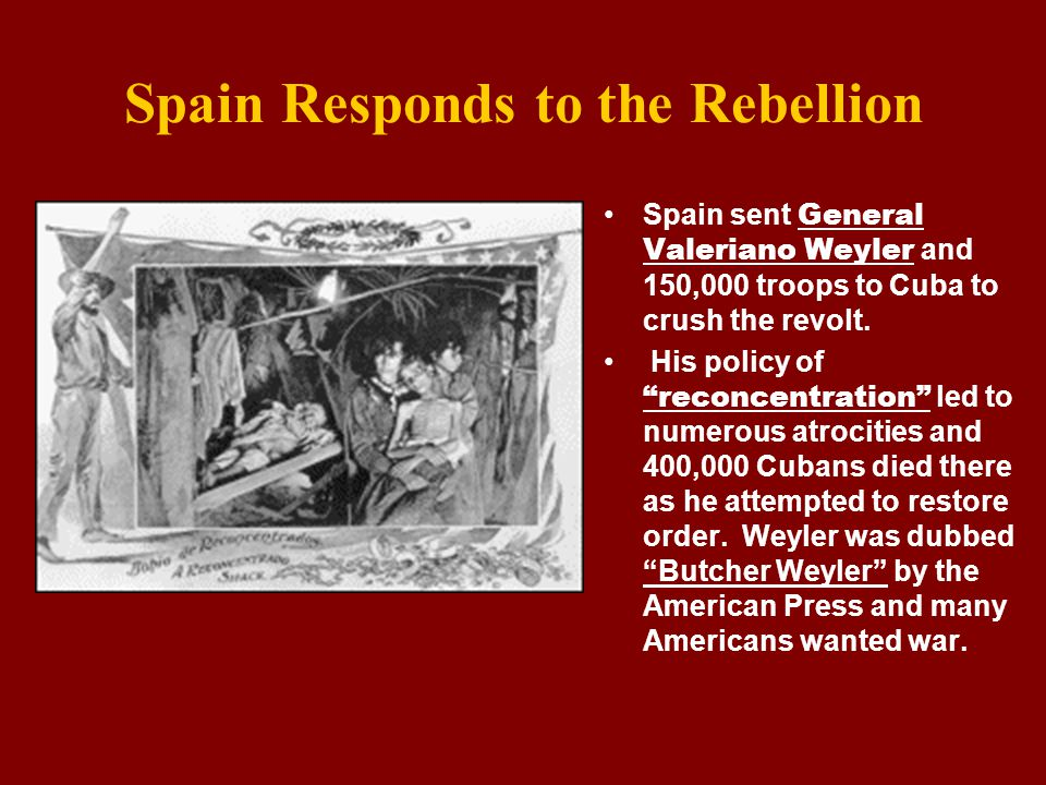 Yellow Journalism The news media published numerous accounts of Spanish brutality.