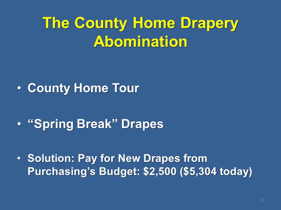 """The County Home Drapery Abomination County Home TourCounty Home Tour """"Spring Break"""" Drapes""""Spring Break"""" Drapes Solution: Pay for New Drapes from Purc"""