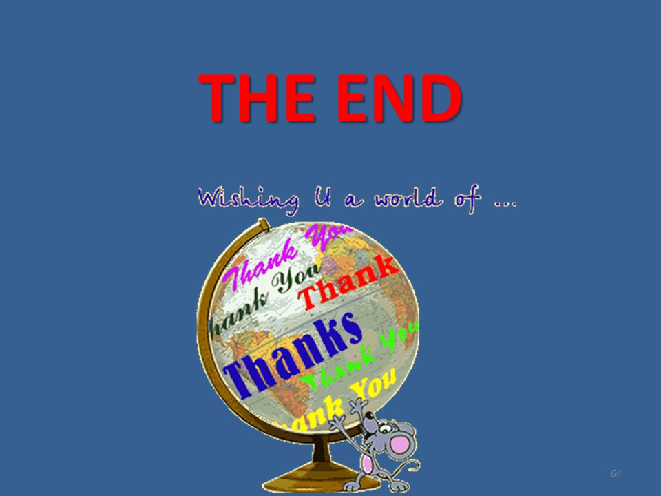 THE END 64