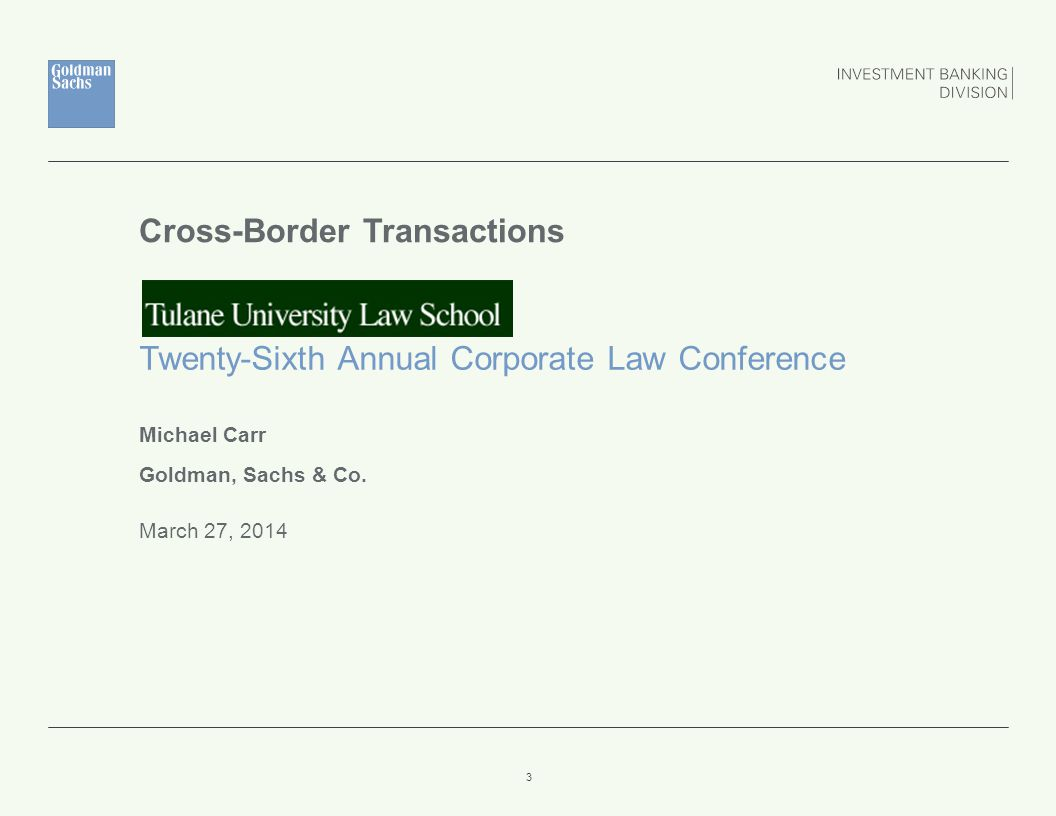 Outbound Transactions REGULAR WAY 34 To Traditional Jurisdictions  US Lawyer's Function  Acting as a bridge to local counsel  Local counsel far and away taking the laboring oar  Market Practice and Relation to Deal Structure and Documentation  Does it matter where the center of gravity is.