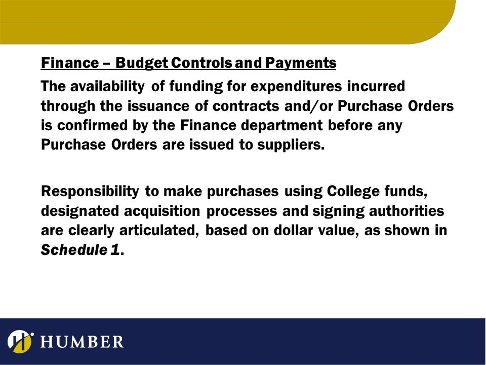 Payments for goods and/or services in excess of $25,000 are reviewed by the Vice President of Finance and Administration prior to being released.