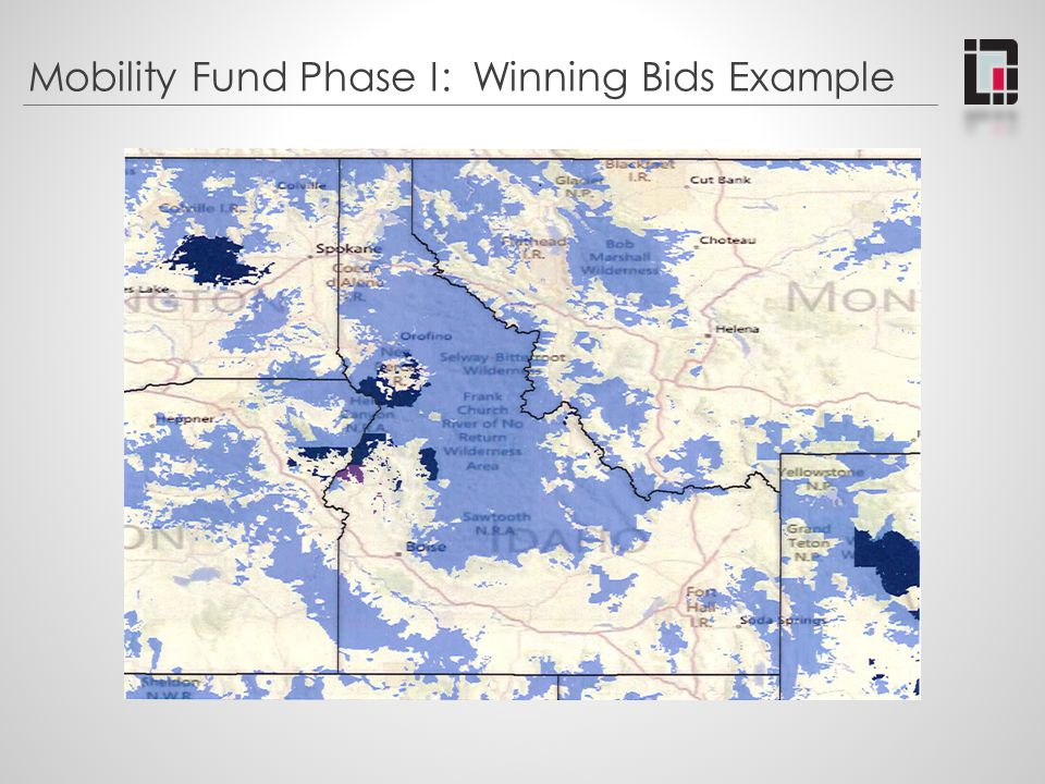 Mobility Fund Phase I: Winning Bids Example