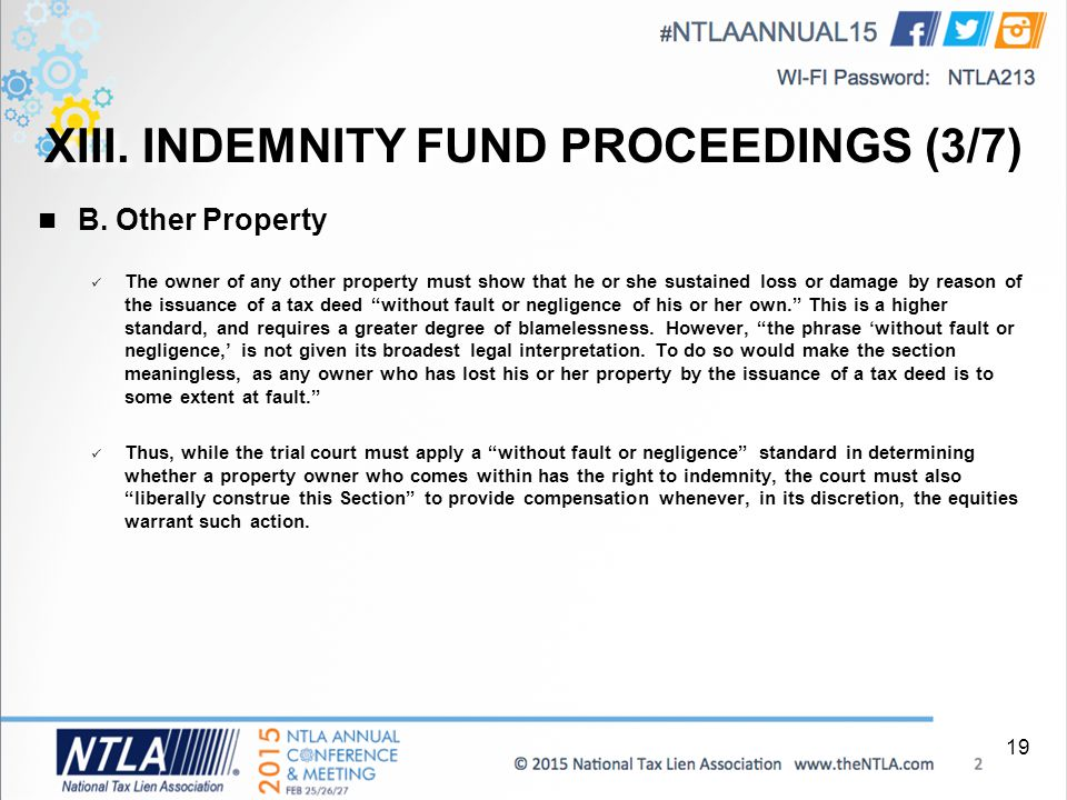 INDEMNITY FUND PROCEEDINGS (3/7) B.  Deed Of Release And Indemnity