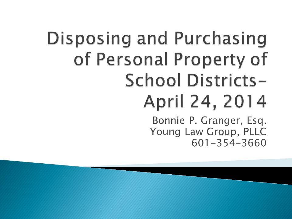 Bonnie P. Granger, Esq. Young Law Group, PLLC 601-354-3660