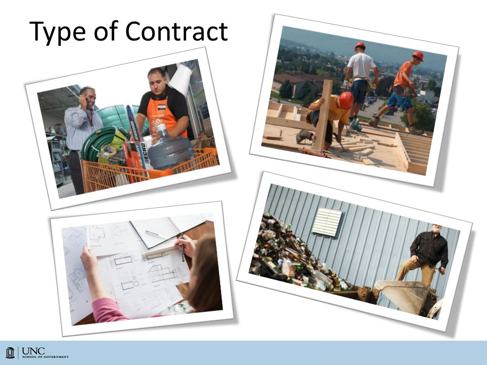 Type of Contract