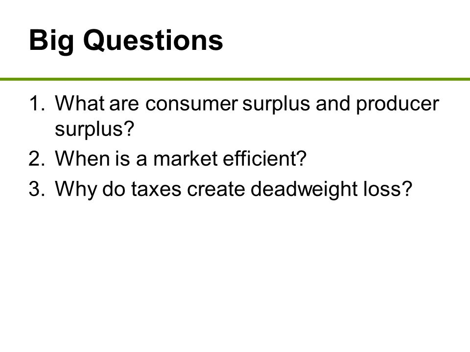 Using Supply to Illustrate Producer Surplus