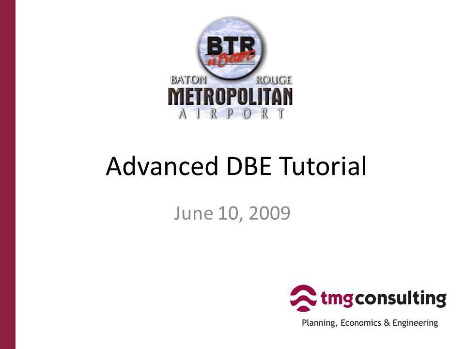 DBE Program FAQ Why does BRMA have a DBE program.