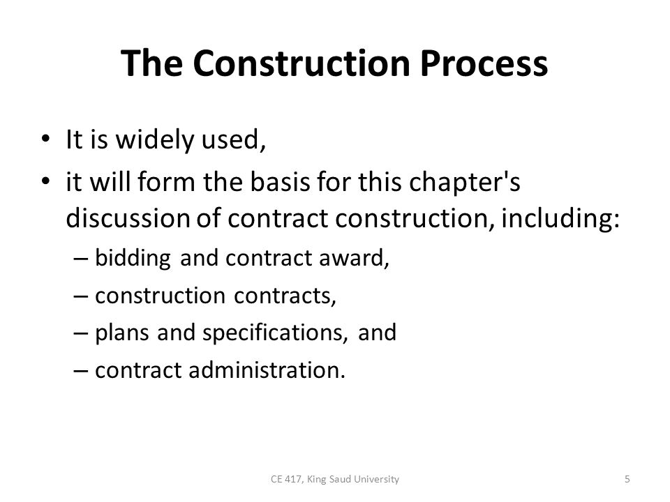Construction Contract Law Construction professionals are not usually lawyers and therefore should not attempt to act as their own lawyers.