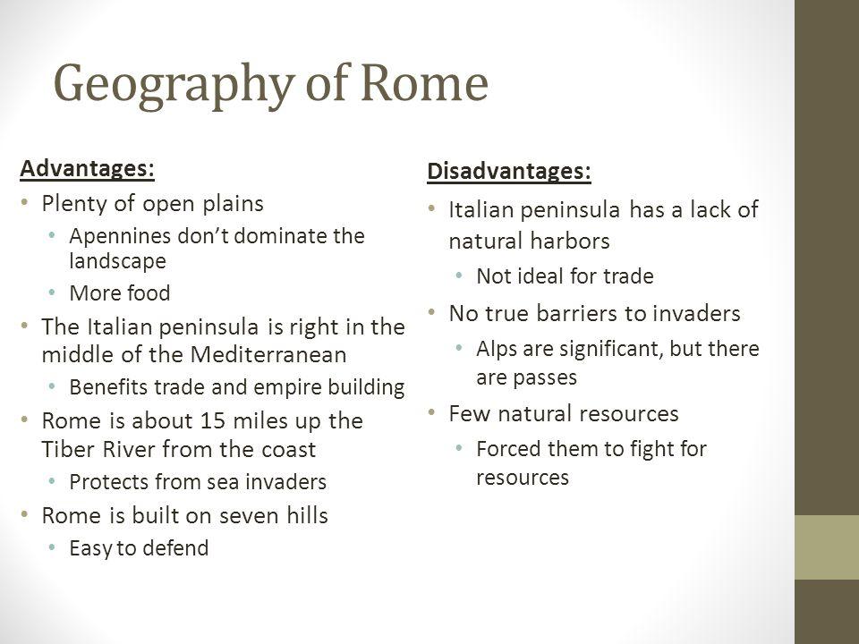 Rome – After Punic Wars – 146 B.C.