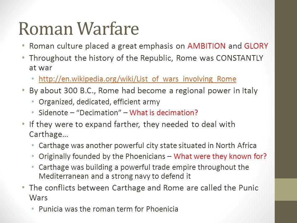 Rome vs. Carthage