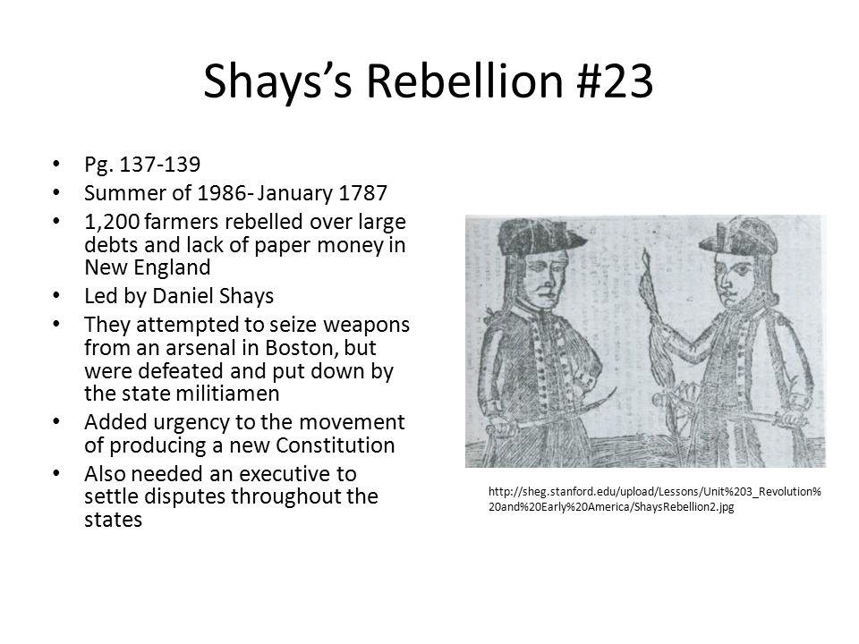 Shays's Rebellion #23 Pg.