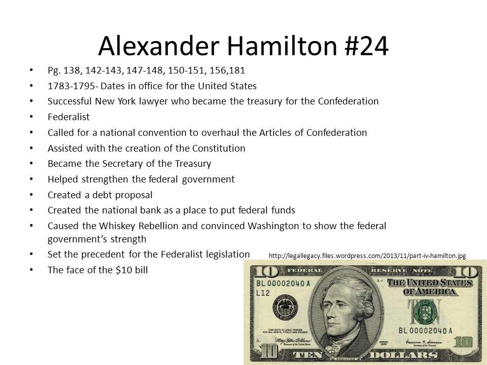 Alexander Hamilton #24 Pg.
