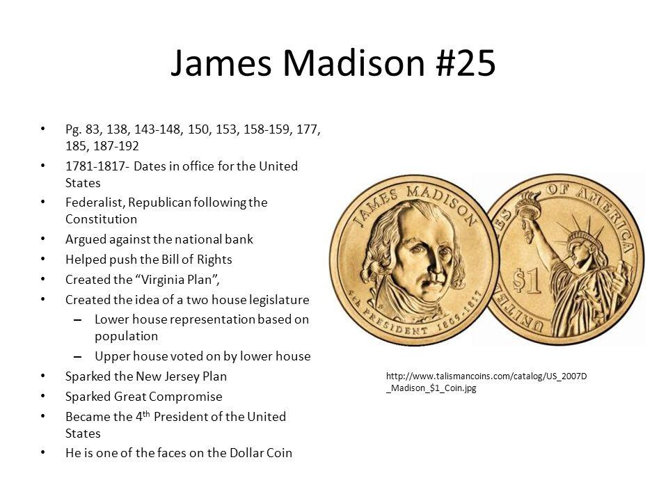 James Madison #25 Pg.