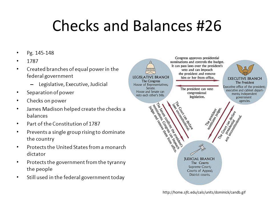 Checks and Balances #26 Pg.