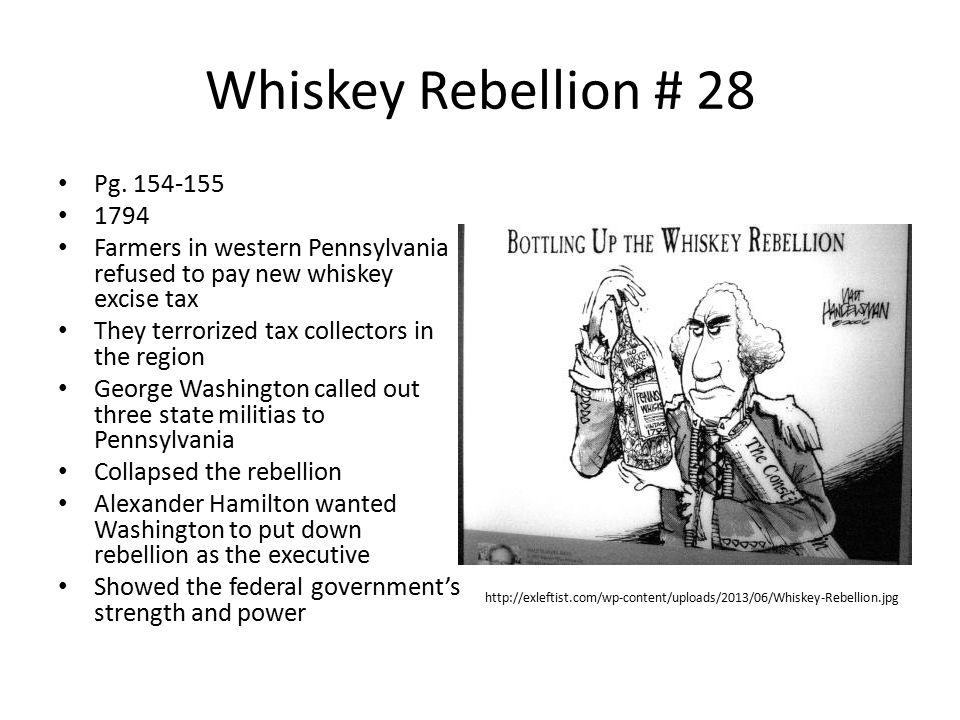 Whiskey Rebellion # 28 Pg.