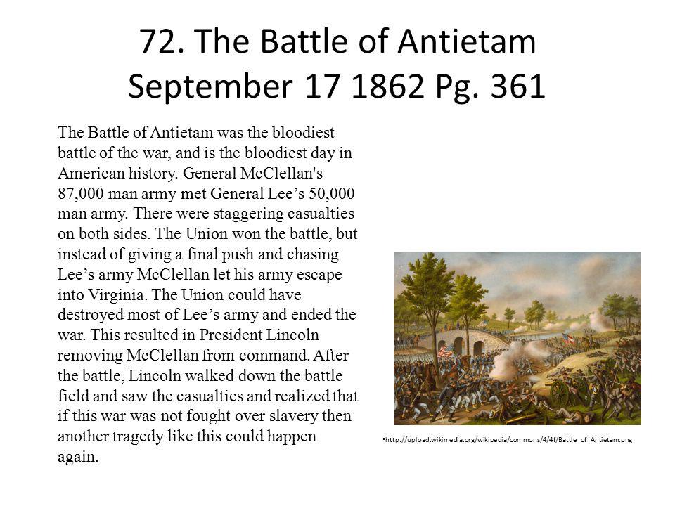 72.The Battle of Antietam September 17 1862 Pg.