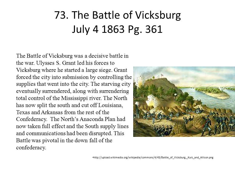 73.The Battle of Vicksburg July 4 1863 Pg.