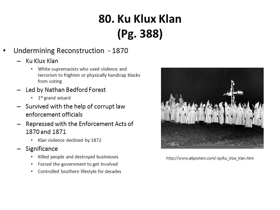 80.Ku Klux Klan (Pg.