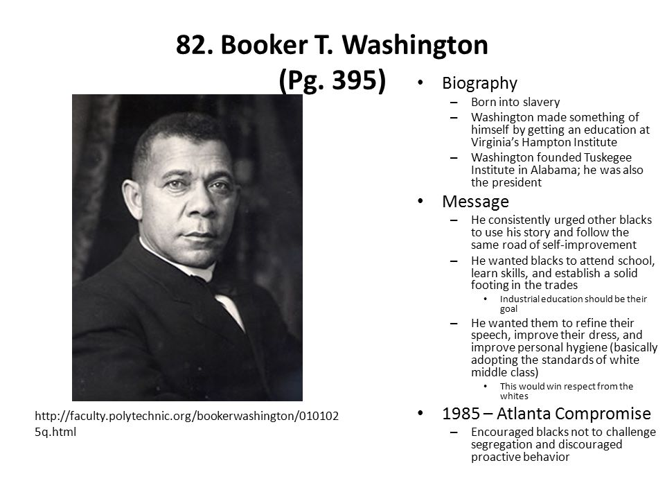 82.Booker T. Washington (Pg.