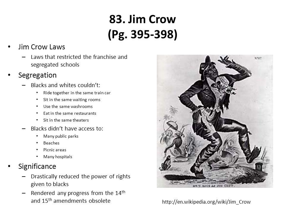 83.Jim Crow (Pg.