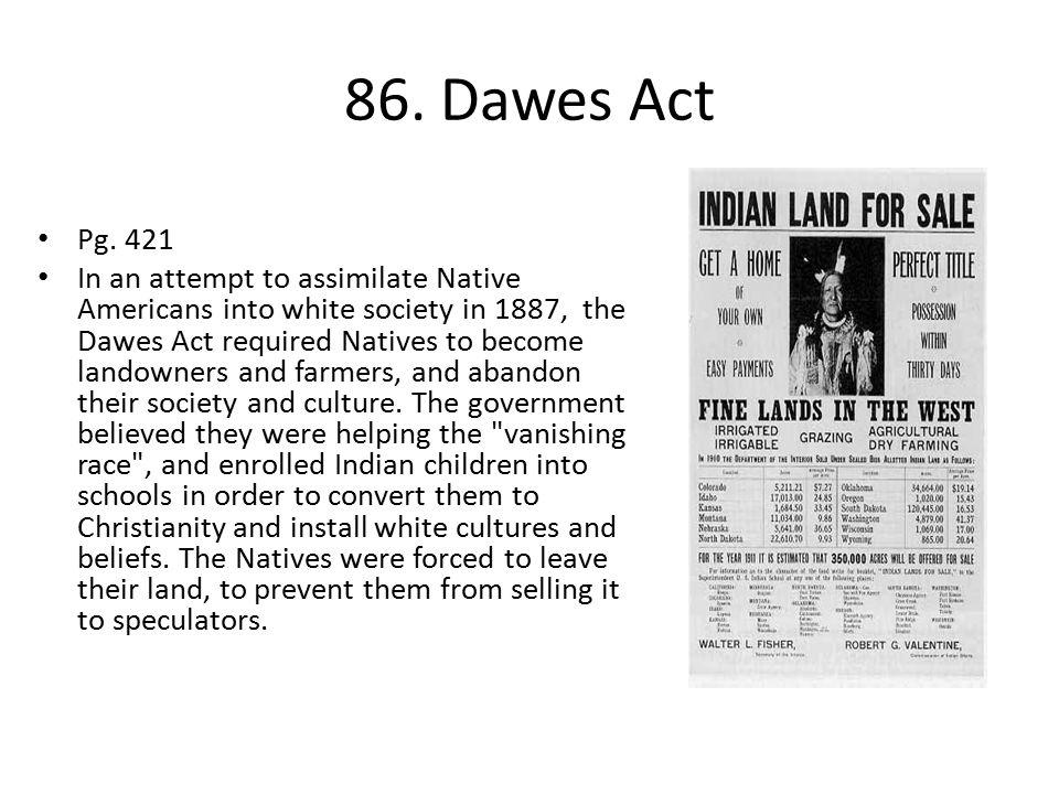 86.Dawes Act Pg.