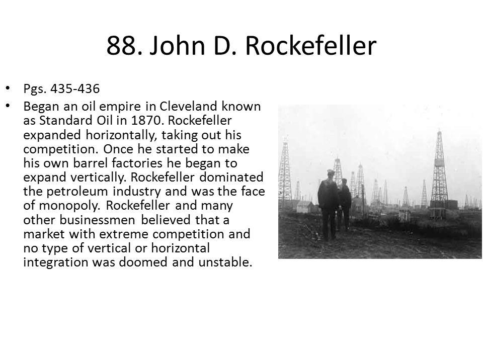 88.John D. Rockefeller Pgs.