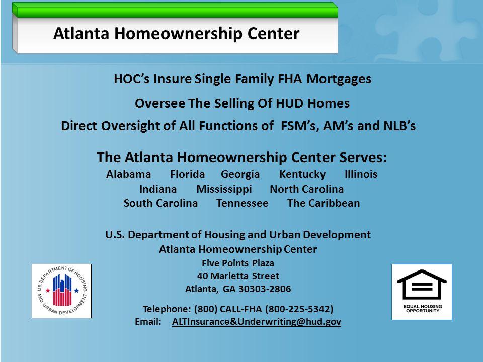 Atlanta Homeownership Center U.S.