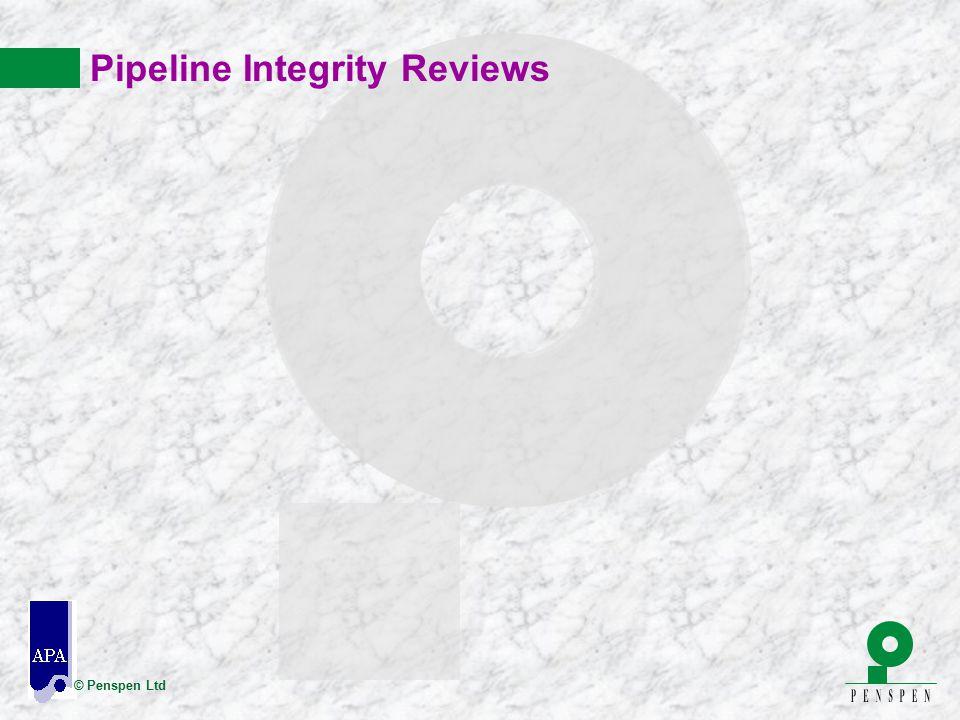 © Penspen Ltd Pipeline Integrity Reviews