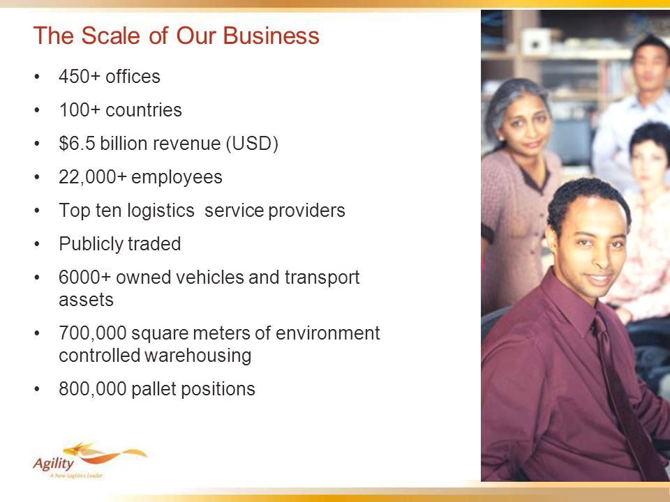 5 A Global Network with Seven Headquarters More than 450 locations In over 100 countries