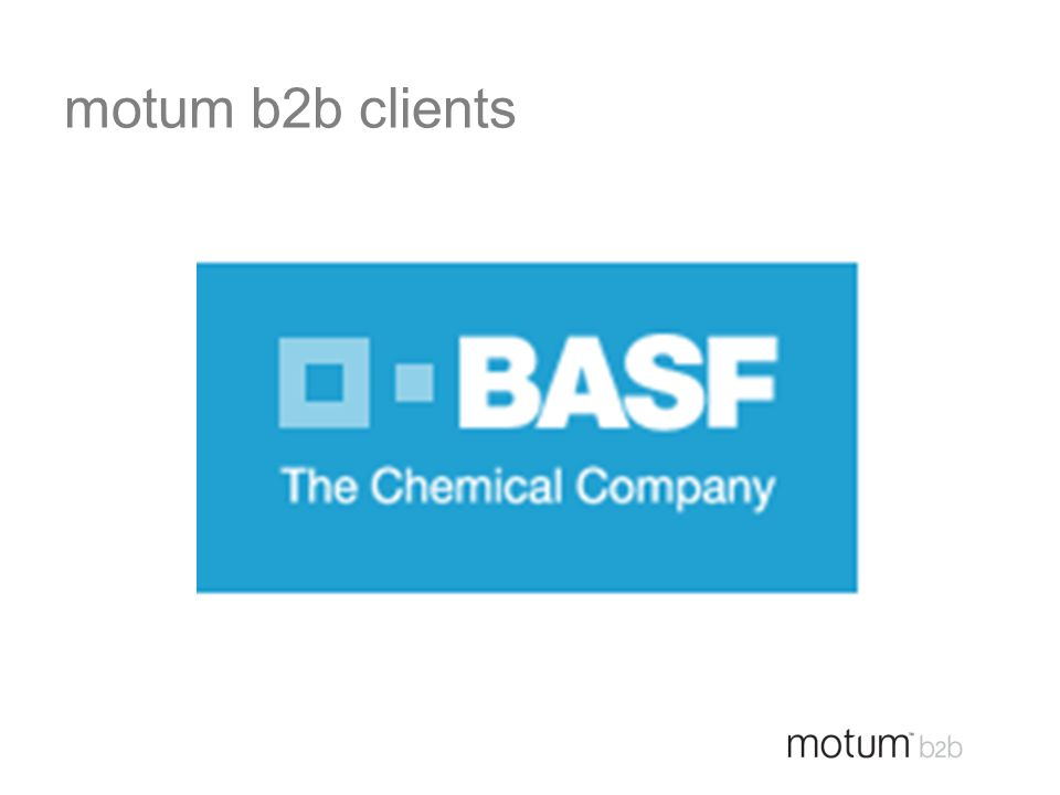 motum b2b clients