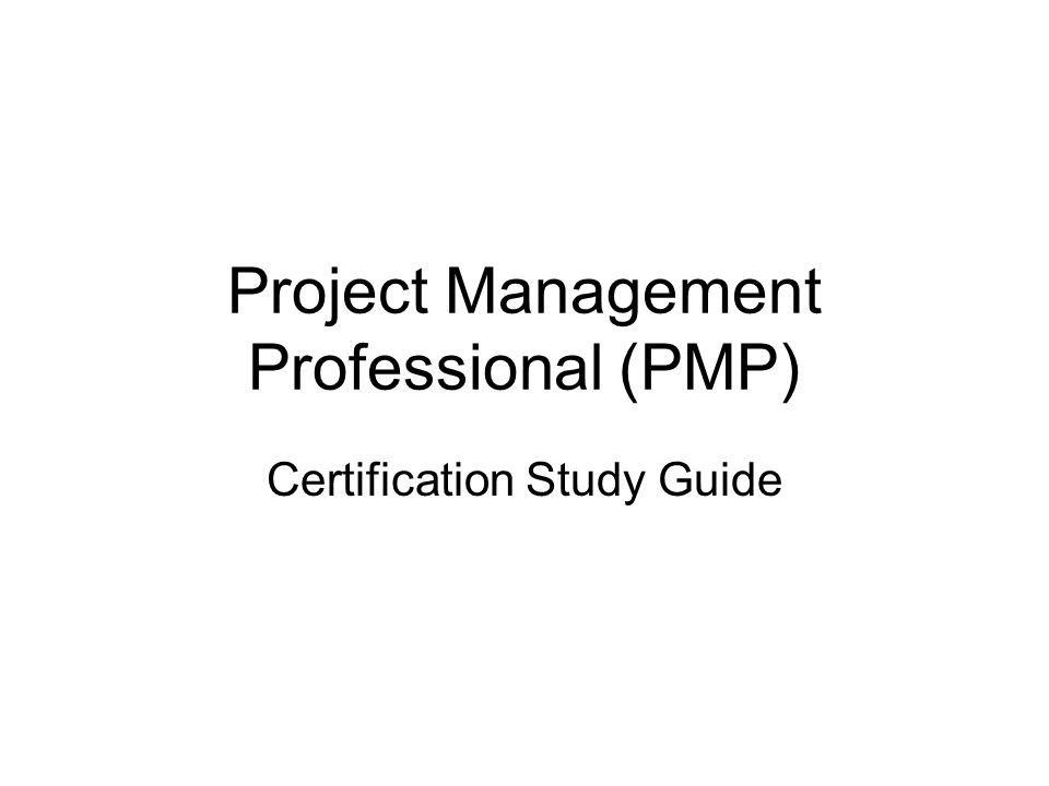 PMI Certification Materials To assist PMI candidates for completing the PMI certification exam administered by the Project Management Institute Content is from A Guide To The Project Management Body Of Knowledge (PMBOK) www.pmi.org