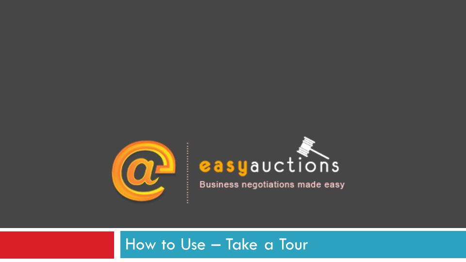 How to Use – Take a Tour