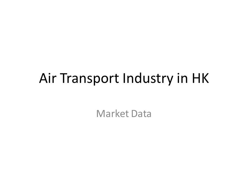 Air Transport Industry in HK Market Data