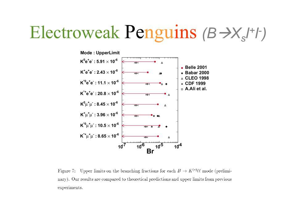 Vertical Electroweak Penguins